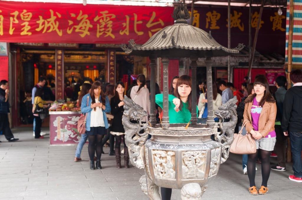 台湾迪化街周辺