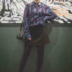 【柄×ミニスカート】JJモデルの私服SNAP~スペシャル編#2~