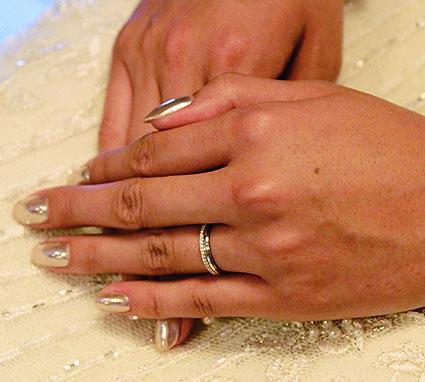 みんなの「婚約&結婚指輪」見せてください❤#1 赤松優希さん