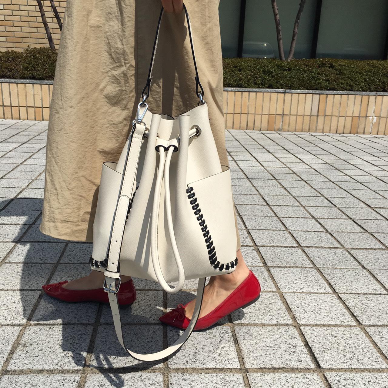 【ZARA】の巾着バッグが関西読者の必須アイテム!