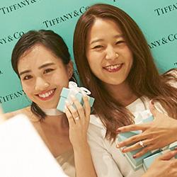 TIFFANY&CO. × JJ Pre Bride Party EVENT REPORT