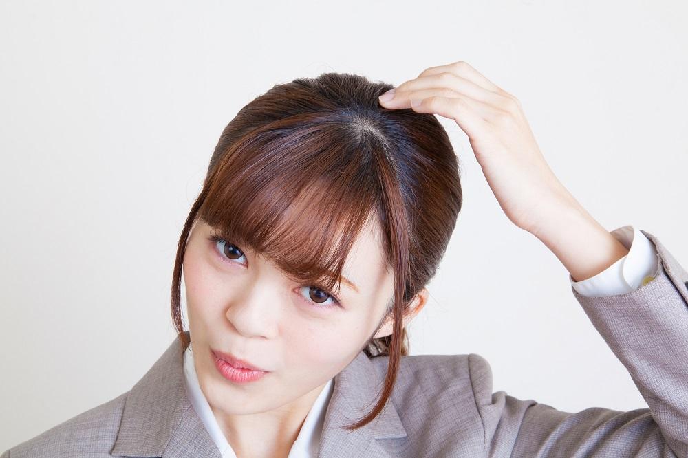 NG4:プリンになってしまっているヘアカラー