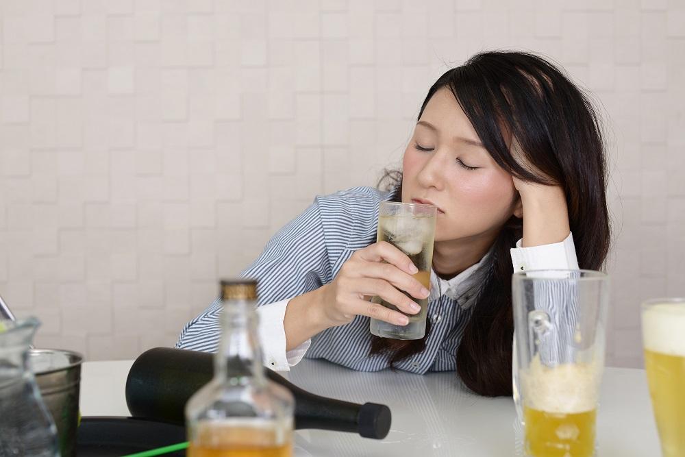 (4)悪酔いする