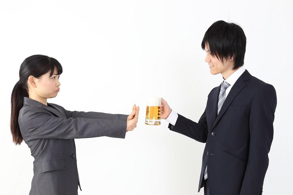 (5)「お酒が苦手なので結構です」