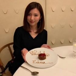 \真野恵里菜、ここだけの話/ 誕生日サプライズディナー写真を公開♡