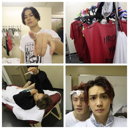 ライブ本番中のバックステージを激写! 山本彰吾、浦川翔平が撮る「裏ランペイジ」