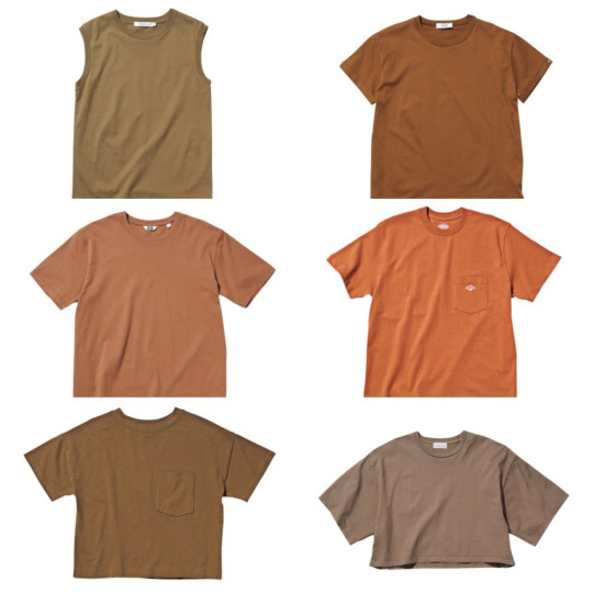 白Tに飽きたら…1枚で簡単おしゃれな「ブラウンTシャツ」9選