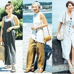30℃以上の暑い日にマネしたい♡「海系女子のヘルシーコーデ」9選