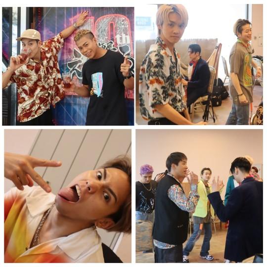 【THE RAMPAGE】ライブ直前のメンバーを激写! LIKIYA、武知海青が撮る「裏ランペイジ」