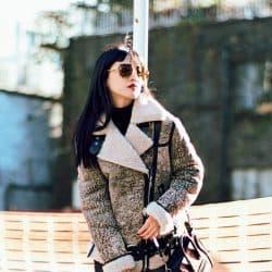 E-girls藤井夏恋の冬の大本命コーデはモード可愛い❤