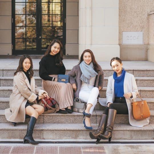 神戸のイケてる女子集団は「大人っぽくって美人!」の噂を実証