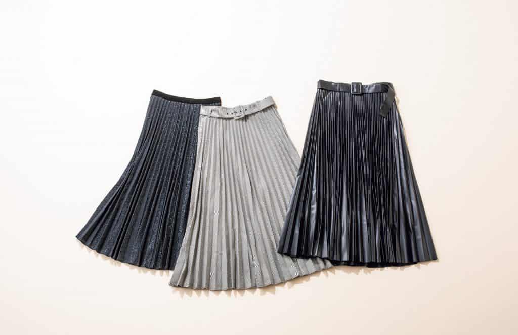 スカート zara プリーツ
