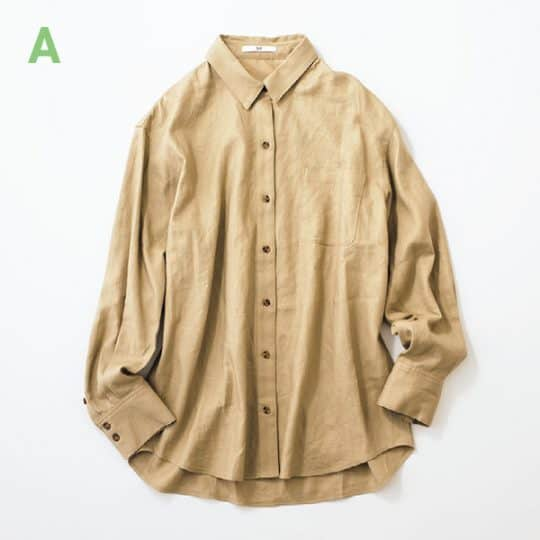 SLY リネン混シャツ/フリーサイズ