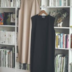 【GU990円ワンピ】が低身長にむしろ丈ぴったり!ファッションエディターのおうちコーデ