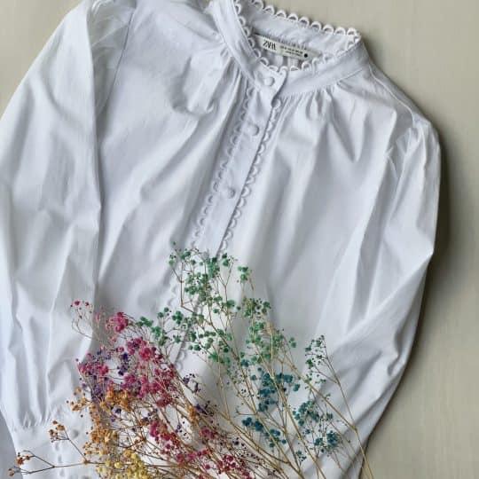 映え確実!ZARAセールで3590円白シャツが優秀すぎた件