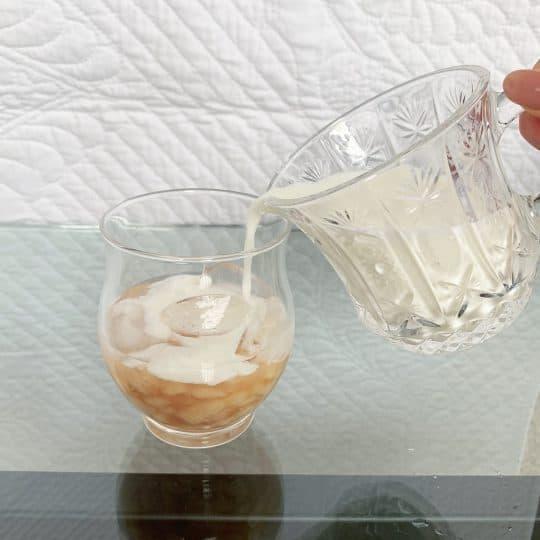 真夏にぴったり!桃×牛乳を使ったドリンクレシピを公開♡