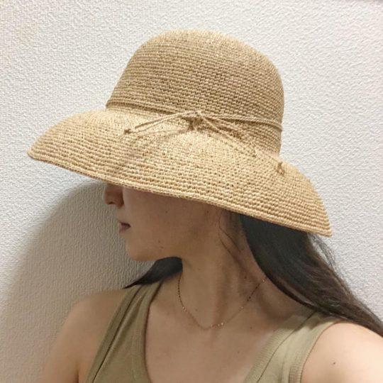 マスク焼けも安心!この夏は無印良品の「つば広帽子」が使えるってウワサ♡
