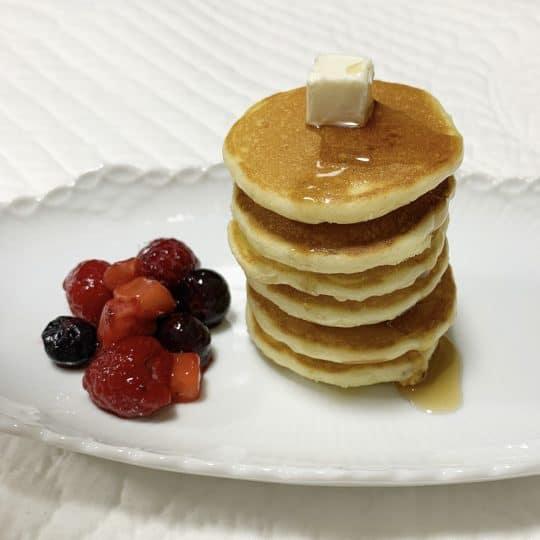 ミニチュアサイズのパンケーキがSNS映え♡「パンケーキシリアル」の作り方