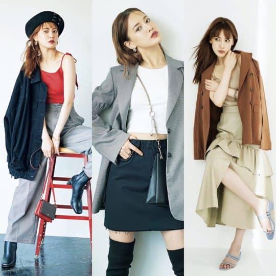 【気温25度以下コーデ】夏の肌見せトップス×秋のジャケットコーデ3選♡