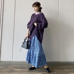 ZARAの新作ロングスカートが可愛い! デートや女子会にも使える高見えコーデを紹介♡