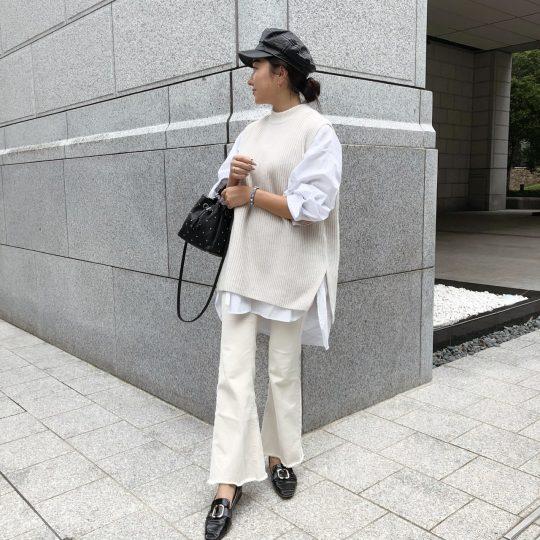 関西ショップ店員が選んだ!秋から冬まで使える【H&Mのニットベスト】