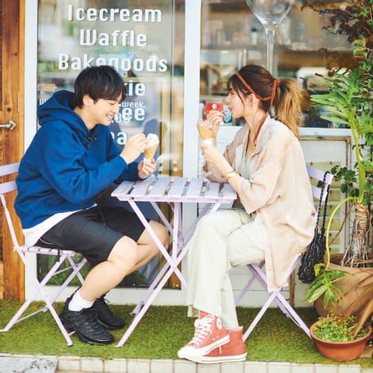 映えて美味しいアイスが大人気!週末湘南ドライブのイチ押しスポットって?