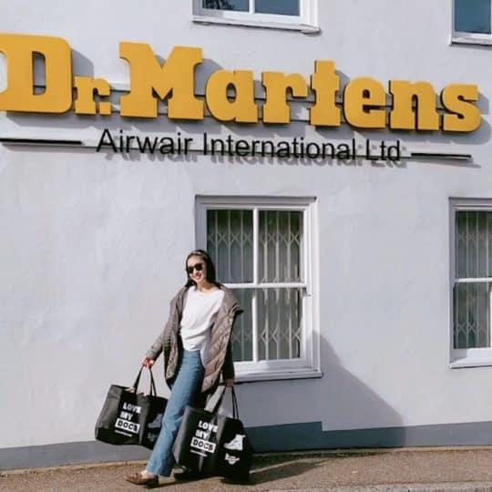 本場イギリス・ドクターマーチンの工場までブーツを買いに行ってきた!