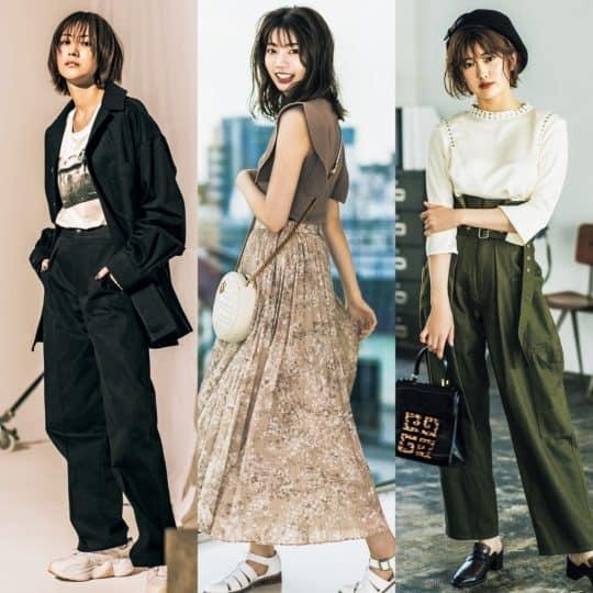 【祝!初表紙】やっぱり可愛い!JJモデル「坂道3姉妹」の秋イチ私服人気コーデ