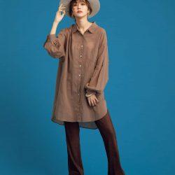 【秋色パンツを10日着回し】レイヤードでも一枚でも履ける万能クレープパンツ!
