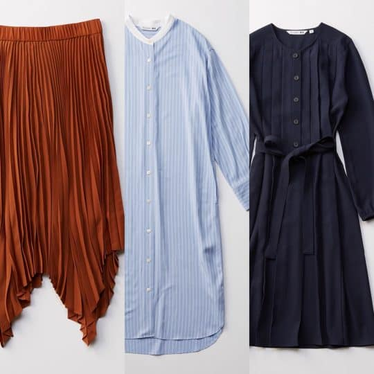【UNIQLO】話題のJW ANDERSONシリーズの売り切れ必至なワンピ&スカート3選