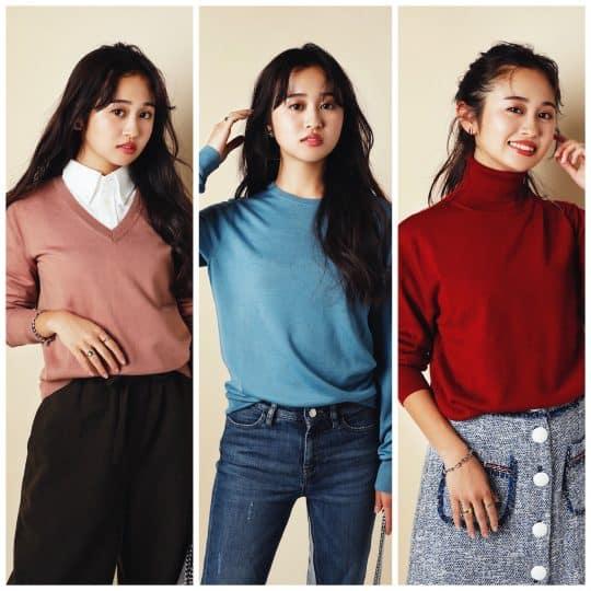 実は狙い目!【ユニクロ】2990円カラーセーターが可愛くてお値段以上な件