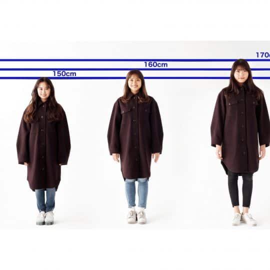 3990円【GU】ヘビロテ確実のCPOジャケットを身長別に比較!コーデしてみた【150/160/170cm台】