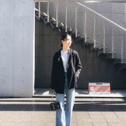 【weekly JJ SNAP vol.7】マニッシュな洗練されたスタイルがかっこいい可蓮さんの春私服