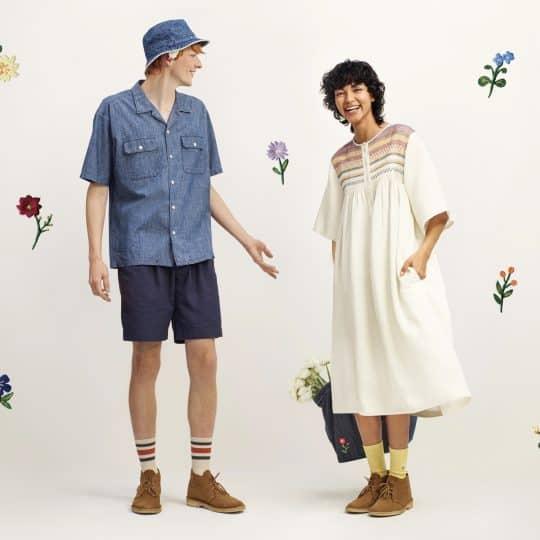 【ユニクロ】春らしいJW ANDERSONコラボ服が公開♡