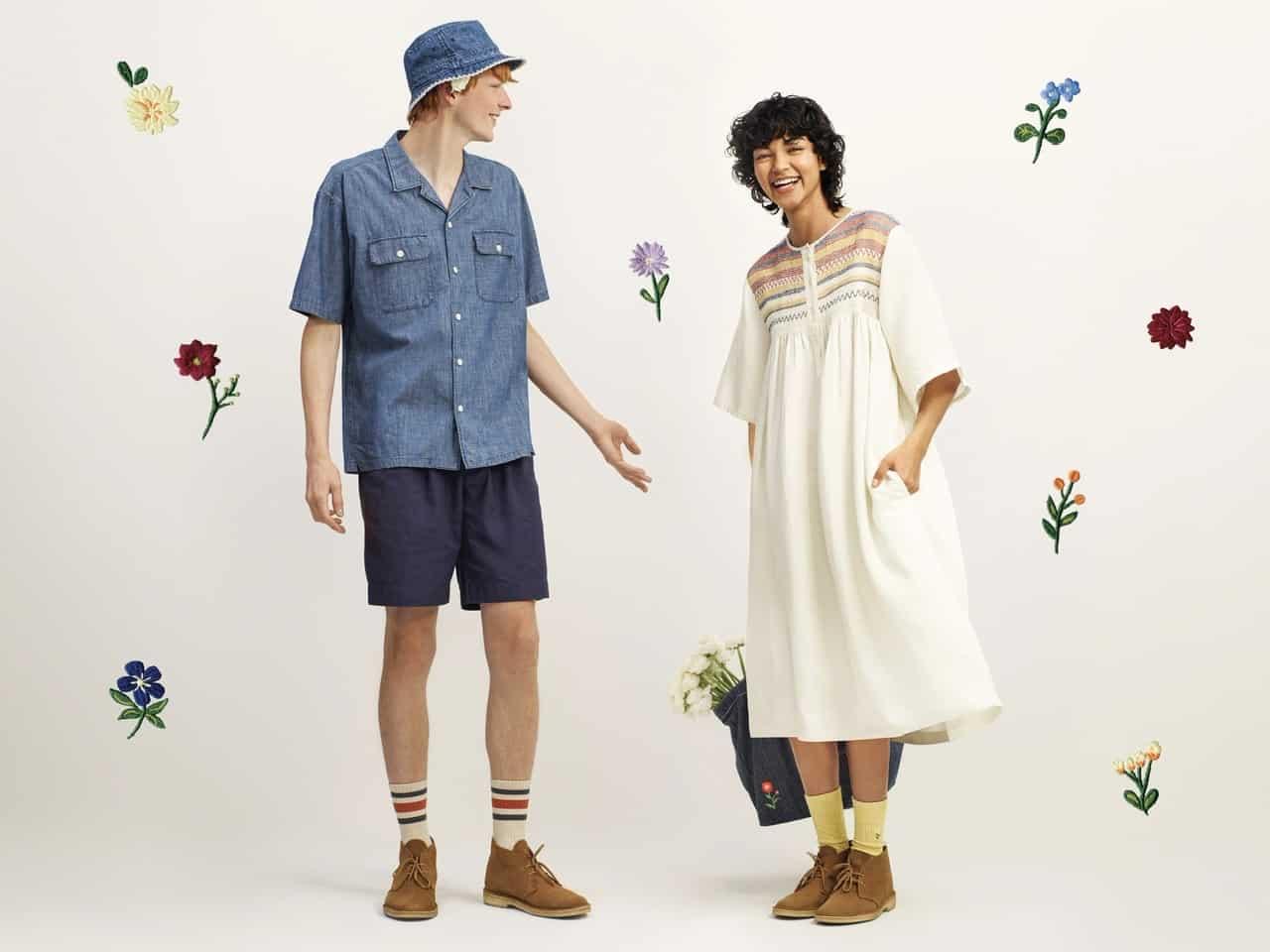 """2021年春夏コレクションのテーマは、""""Threads in bloom""""(春を紡ぐ)"""