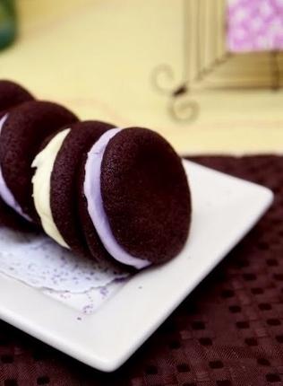 Chocolate Wafer Whoopie Cookies (316x430)