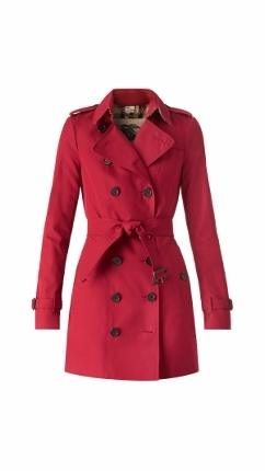 The New Burberry Sandringham Trench Coat - Parade Red (242x430)