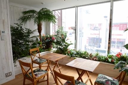 HISHawaii新宿三丁目(店内2階打ち合わせスペース 横)  (430x287)