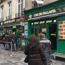 パリのマレ地区のファラフェルの激戦区へ【こむぎこ通信#6】